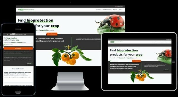 BioProtection Portal home page